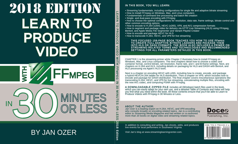 Learn to Produce Video with FFmpeg in 30 Minutes or Less