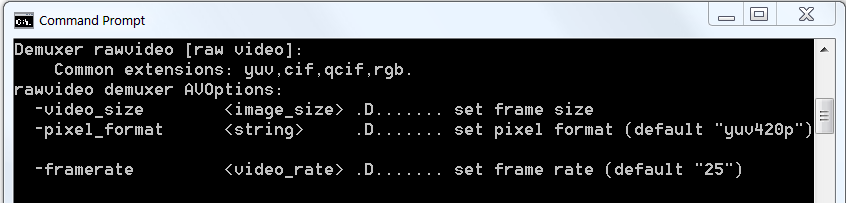 Encoding YUV Files with FFmpeg and Converting to Y4M